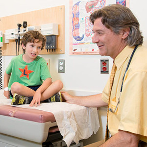 Dr. Allessio Fasano, the renowned director of Mass General's Center for Celiac Research and Treatment, checks in with Logan.
