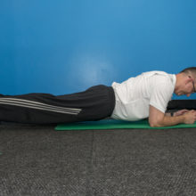 Planks are a good exercise to strengthen your core and there are many modifications.