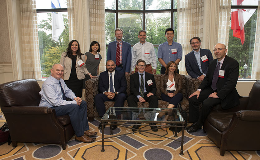 Members of the The Athinoula A. Martinos Center for Biomedical Imaging at Massachusetts General Hospital gathered to celebrate the 14th Annual Phillips Society Luncheon on Sept. 6, 2019.