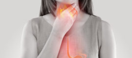 Acid reflux can cause a range of symptoms including a burning sensation in the throat or chest.