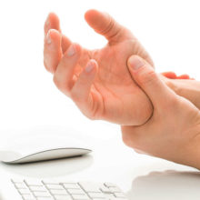 Carpal tunnel syndrome is a result of compression of the median nerve in the arm.
