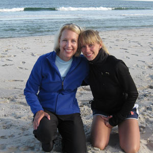 Barbara Densen and her daughter Arielle shared a wish to raise awareness and funding for lung cancer.