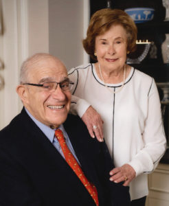 Arthur Epstein and his wife, Bryna Litchman.