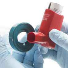 It is recommended to use a spacer with an inhaler when taking asthma medicine.
