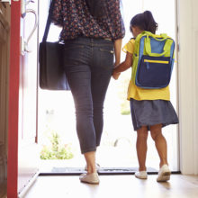 When back-to-school time comes, parents can set the tone and help ease children's anxiety .