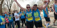 Boston Marathon 2015 Runners