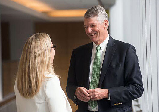 As senior vice president for Development, Dr. Nicholson is eager to connect with Mass General donors, clinicians and researchers.