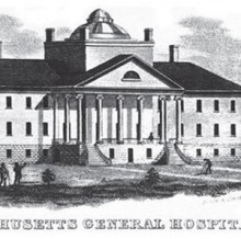 The Bulfinch Building at Massachusetts General Hospital