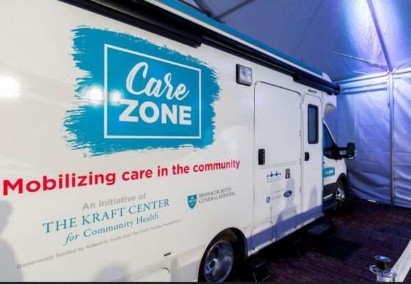 The CareZONE van will provide care and harm-reduction services in areas of Greater Boston known to have high rates of opioid overdoses.
