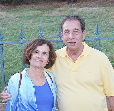 Carol Scarpaci, shown with husband Frank Scarpaci, is cancer free following treatment at Mass General Cancer Center.