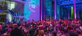 The Museum of Fine Arts in Boston opened its doors to 275 guests at the second annual CenterStage gala in support of the Mass General Cancer Center.
