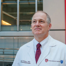 """""""Mass General is as well prepared as any hospital could be. We have the resources. We have the training. We have drilled,"""" says David F. M. Brown, MD, chief of Emergency Medicine at Massachusetts General Hospital."""