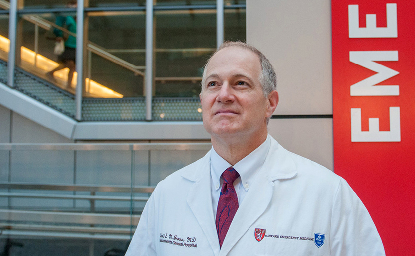 """Mass General is as well prepared as any hospital could be. We have the resources. We have the training. We have drilled,"" says David F. M. Brown, MD, chief of Emergency Medicine at Massachusetts General Hospital."