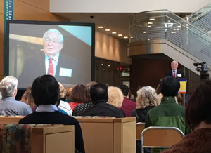 BHI founder Herbert Benson, MD, told De-Stress Boston participants that stress is connected to a variety of health problems.