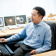Eric Liao, MD, PhD, a Laurie and Mason Tenaglia MGH Research Scholar, is studying how to prevent cleft lip and palate.