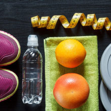 Exercise, healthy eating, drinking water and rest and recovery are some of the basics for good health.
