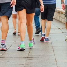 Low intensity activities like walking should be part of a planned break from more vigorous exercise.