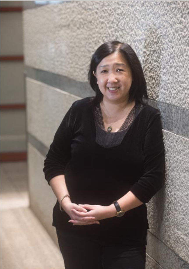 Ona Wu, PhD, connects patient care with imaging technology by designing the protocols to answer the important questions.