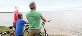 Mass General experts suggest establishing a regular routine for bike riding and other kids' fitness activities.