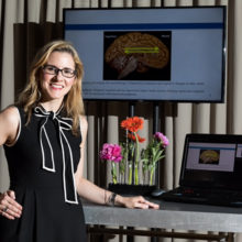 Jennifer Gatchel, MD, PhD, is using brain imaging technology to learn more about the connections between mental illness and cognitive decline in aging populations.