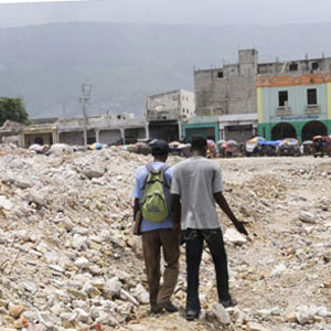 In 2010, a 7.0-magnitude earthquake caused severe destruction in Haiti.
