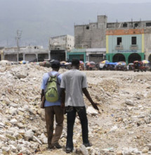 The cholera epidemic on top of the earthquake and existing poverty has been devastating to Haiti.