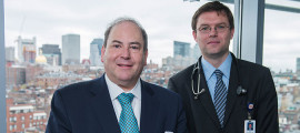Robert Levine, MD (left), and Jacob Dal-Bianco, MD