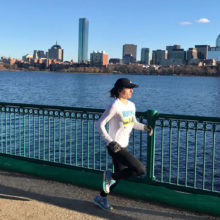 Mass General Occupational therapist Helena Diodati runs for Emergency Response