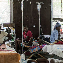By the time Steven Gardner, MD, arrived at the hospital in the village of Deschapelles, Haiti, cholera had broken out.