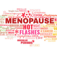Hot flashes and other uncomfortable symptoms of menopause can be managed.