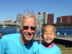 This year, Dr. Weinstein will run his 25th Boston Marathon in honor of Annie Flaherty.