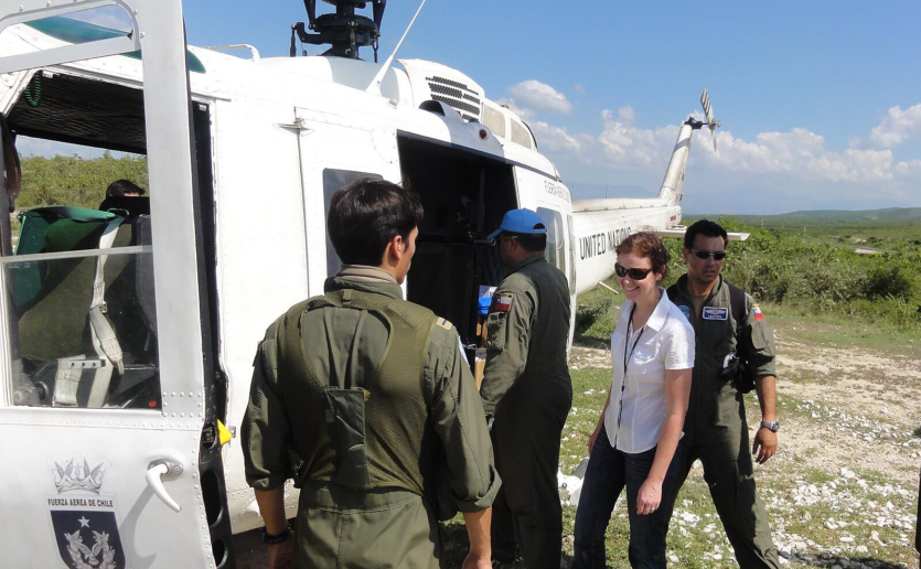 In Haiti, Louise Ivers, MD, MPH, DTM&H, has worked with national and international partners to address chronic and emergency issues in impoverished communities.