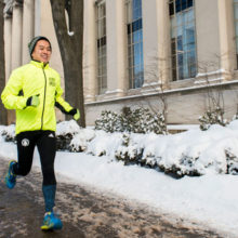 Jimmy Doan is running the 2017 Boston Marathon to give back to Mass General, where his sister receives cancer care.