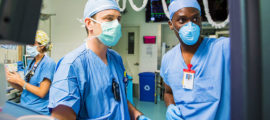 Oluwaseun Johnson-Akeju, MD, and his team in the Department of Anesthesia, Critical Care and Pain Medicine bring high-quality care to patients during the COVID-19 crisis.