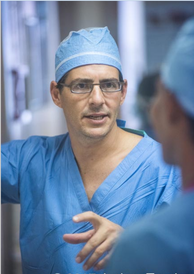 Jeremy Goverman, MD, a reconstructive plastic surgeon, took on the challenge of restoring Joy's visible outer self.