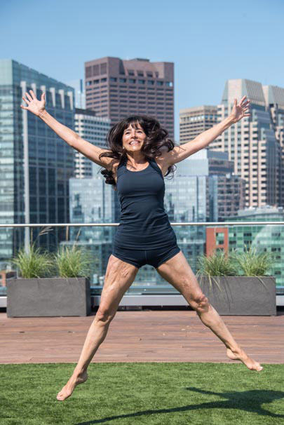 As her own recovery progressed, Joy trained in yoga and wellness, giving instruction to burn survivors.