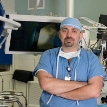 Trauma surgeon Haytham Kaafarani