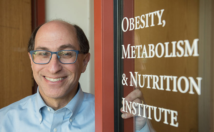 Lee Kaplan, MD, PhD, seeks answers to the problem of obesity and related diseases at the Mass General Obesity, Metabolism and Nutrition Institute.