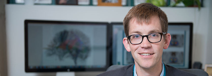 Eric Klawiter, MD, is using ultra-high resolution MRI to better diagnose multiple sclerosis.