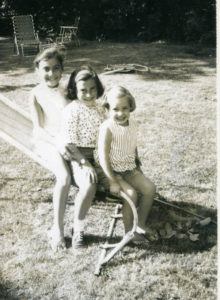 Sisters Margie, Judy and Jane Lipson posed for a playground photo as children. Primary care