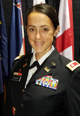 Army Major Vanessa Stolzoff