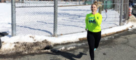 Maggie Sheehy, MD, MSc, views running the 2018 Boston Marathon as a once-in-a-lifetime opportunity.