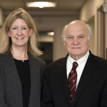 Amy Spooner, MD, and Duke Cameron, MD, co-directors of the newly launched Marfan Syndrome and Related Disorders Clinic.