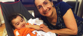 Since Quinn was a baby, his grandmother Marian DiFiglia, PhD, a Mass General researcher, has been there to support him.
