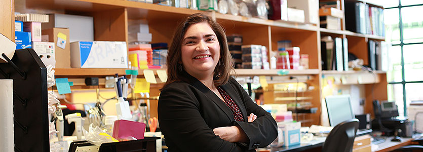 Marcela Maus, MD, PhD, is director of the Mass General Cancer Center's new Cellular Immunotherapy Program.