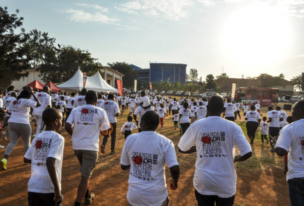 The 5K Uganda Color Run for Cancer has raised funds to hire nurses, build a new ward and purchase medication for pediatric cancer programs at the Mbarara Regional Referral Hospital.