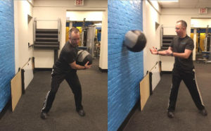 The medicine ball throw is one exercise that can help you build power.