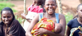 Mass General's Moms Helping Moms program aims to give babies in Uganda a healthier start.