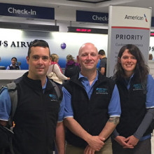 Mass General has deployed a second disaster response team to Nepal. Team members are, from left: Hasmukh Patel; Nicholas Merry, RN; Russell Demailly, RN; Lindsey Martin, NP; Monica Staples, RN; and Paul Biddinger, MD.