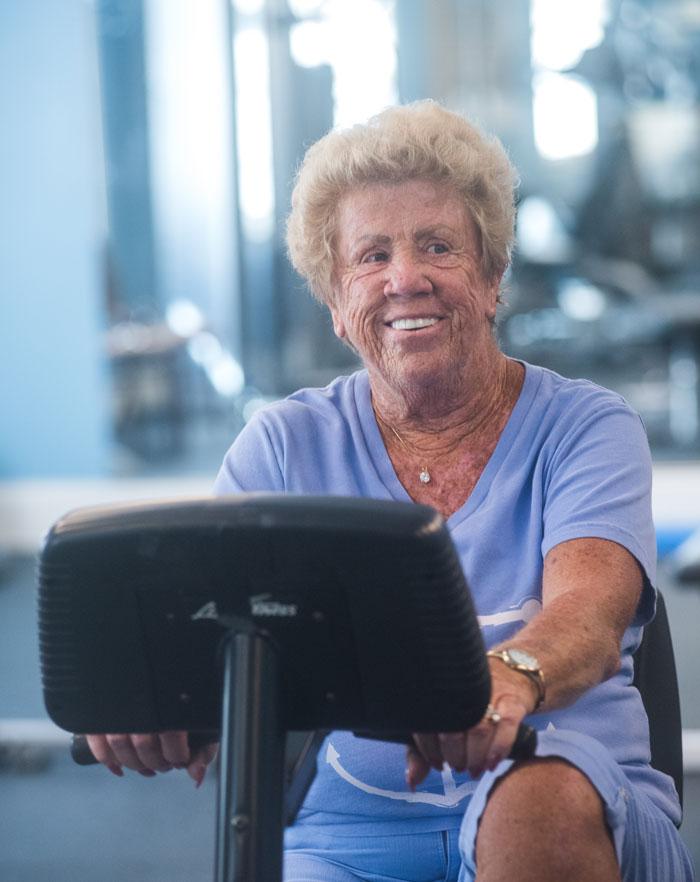 Ellen Sullivan is very grateful the screening found her cancer early.